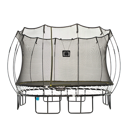 สปริงฟรีแทรมโพลีน สี่เหลี่ยม รุ่น S113 ขนาด 3.4x3.4 เมตร