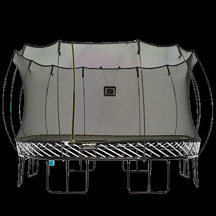 สปริงฟรีแทรมโพลีน สี่เหลี่ยม รุ่น S155 ขนาด 4x4 เมตร